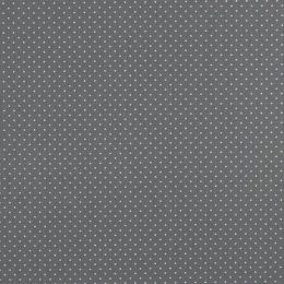 Baumwolle Petit Dots grey