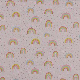 Baumwolle Glitter Rainbow rose