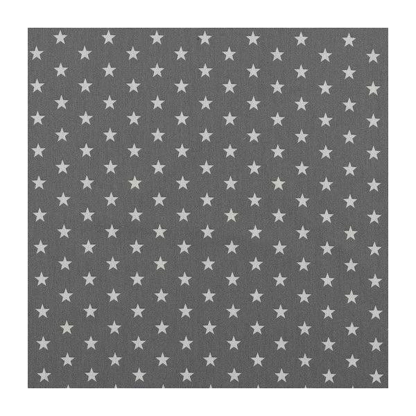 Baumwolle Petit Stars grey