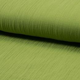 Musselin Uni green