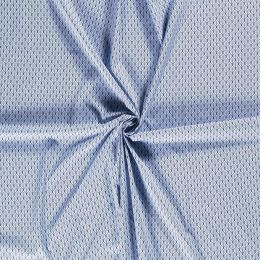 Baumwolle Flowers baby blue