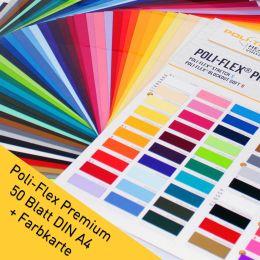 Premium Flexfolien DIN A4 Set 50 Farben