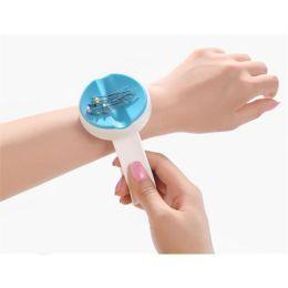 Magnetnadelkissen Armband blau