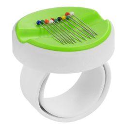 Magnetnadelkissen Armband grün