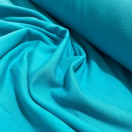 French Terry brushed aqua