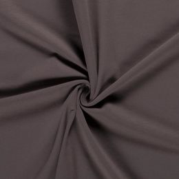 French Terry brushed taupe braun