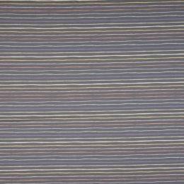 Jersey Stripes grau