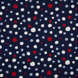 Jersey Color dots navy