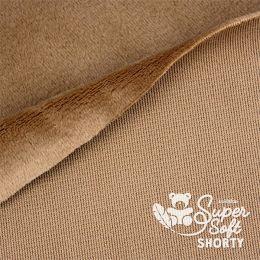 Kullaloo Plüschstoff Shorty 1,5mm brown