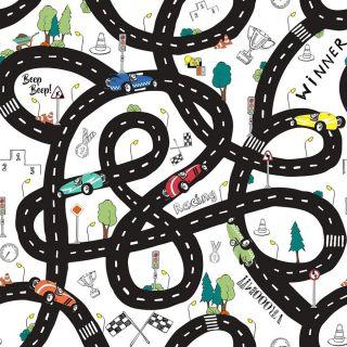 Roadmap schwarz/weiß